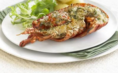 Lobster with Thermidor Butter